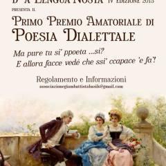 Poesia dialettale, un concorso per il Maggio dei Monumenti